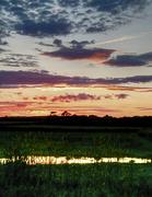 24th Jun 2012 - reflected sunset