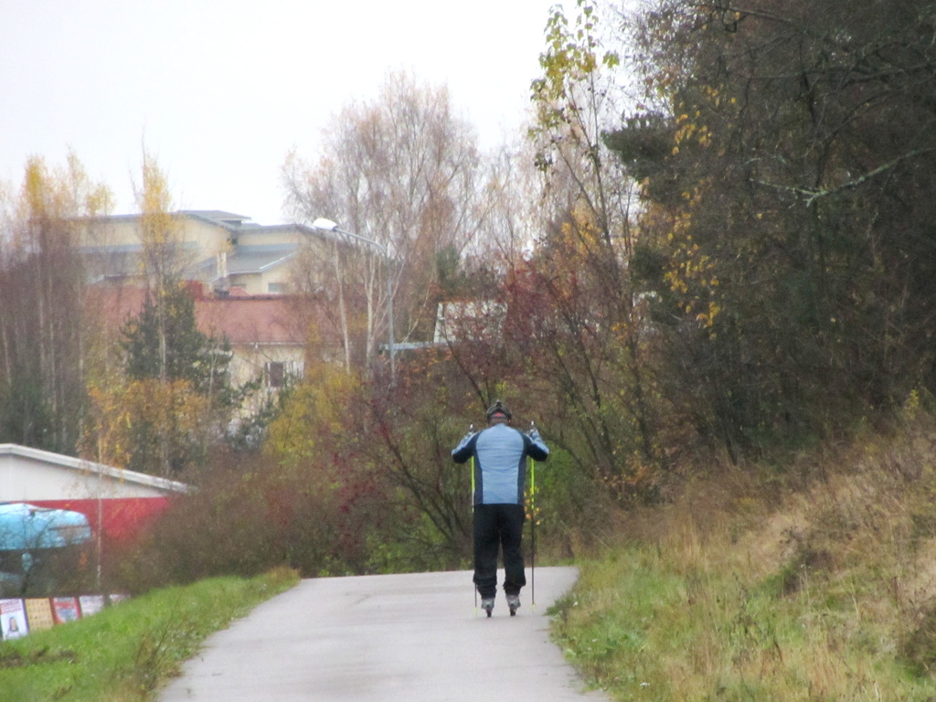 Roller skiing in Kerava by annelis