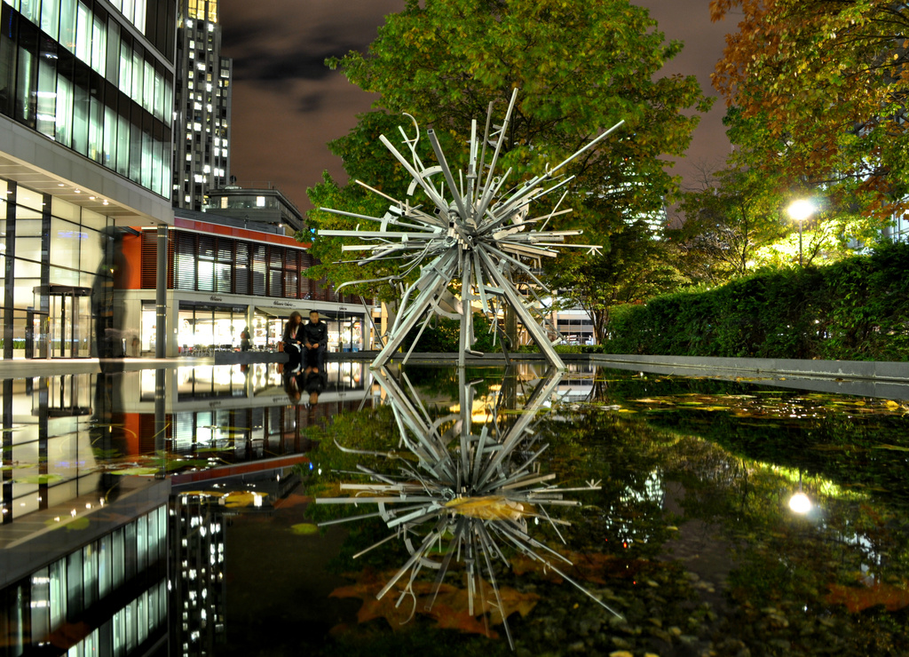 Mirrored Sculpture by andycoleborn