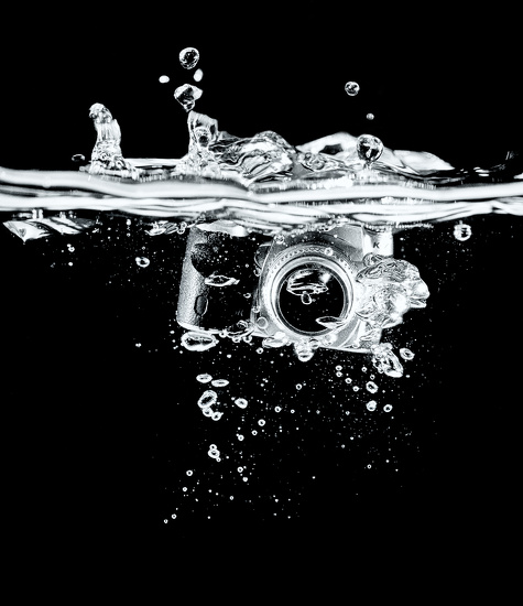 Camera Splash by humphreyhippo