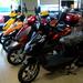 Motorcycle display by bruni
