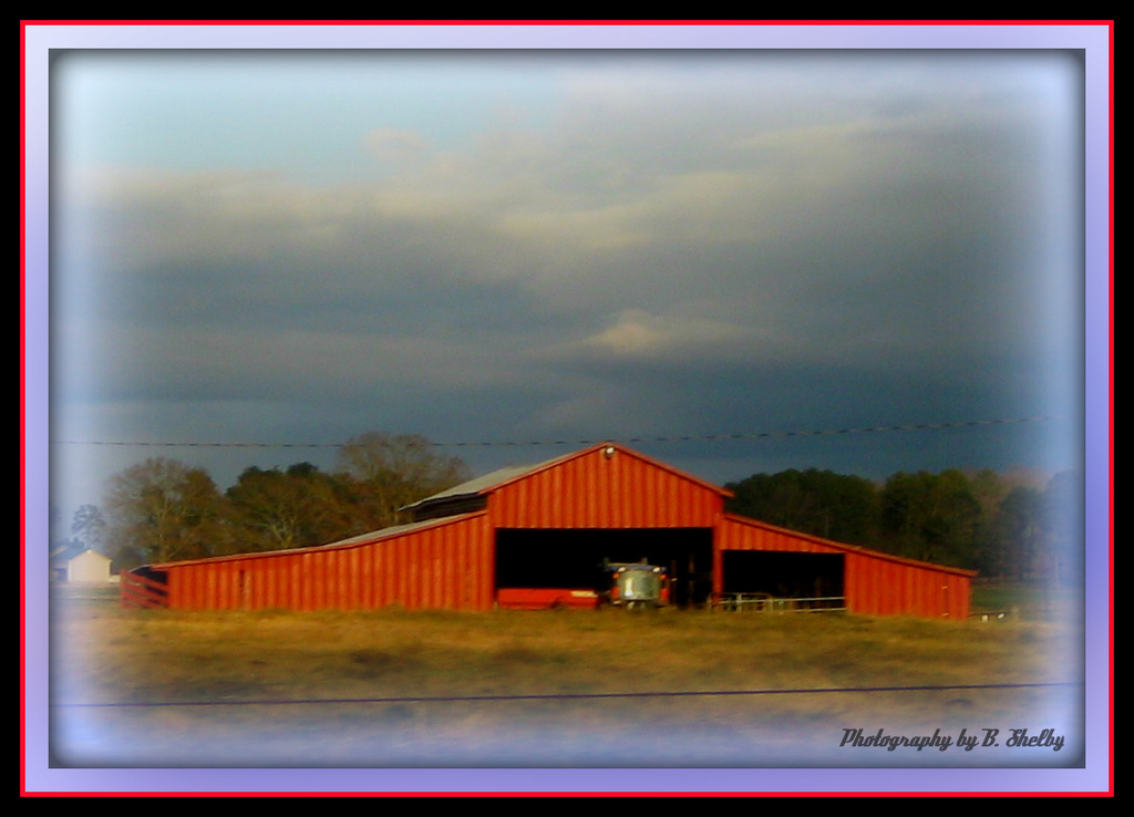 Another View of the Barn by vernabeth