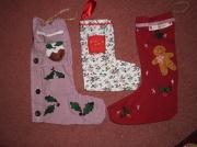 23rd Nov 2012 - Christmas stockings.