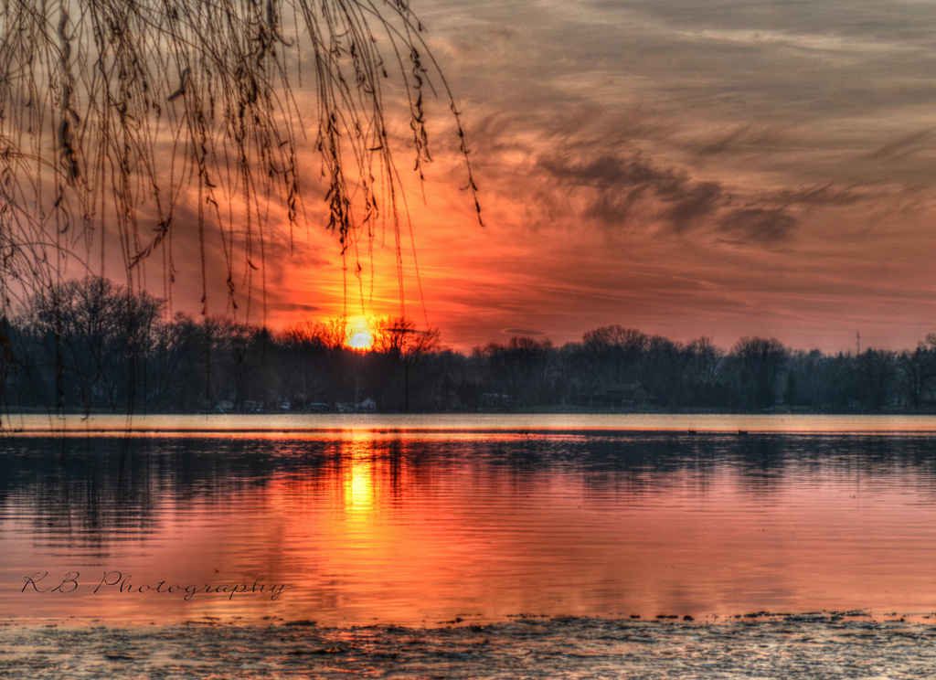 Serendipitous Sunset -  looks better viewed large by myhrhelper