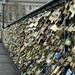 Padlocks on Pont des Arts by parisouailleurs