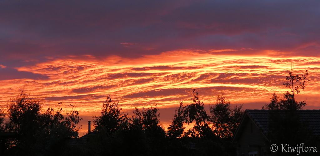 Sunrise over Rolleston by kiwiflora