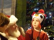 2nd Dec 2012 - Owen, Noah and Santa