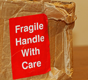 5th Dec 2012 - fragile handle with care