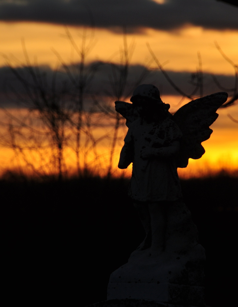 Angel/ Sunset by jayberg