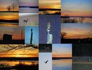 5th Dec 2012 - Pomona Lake Sunset Collage