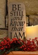 6th Dec 2012 - Be Still