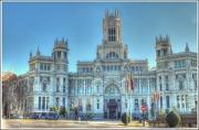 10th Dec 2012 - Palacio de Comunicaciones,Plaza Cibeles,Madrid