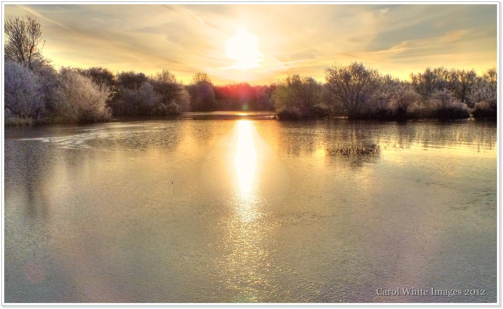 A Frosty Sunrise by carolmw