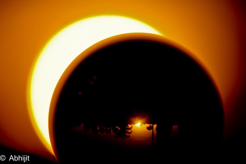 Eclipse by abhijit