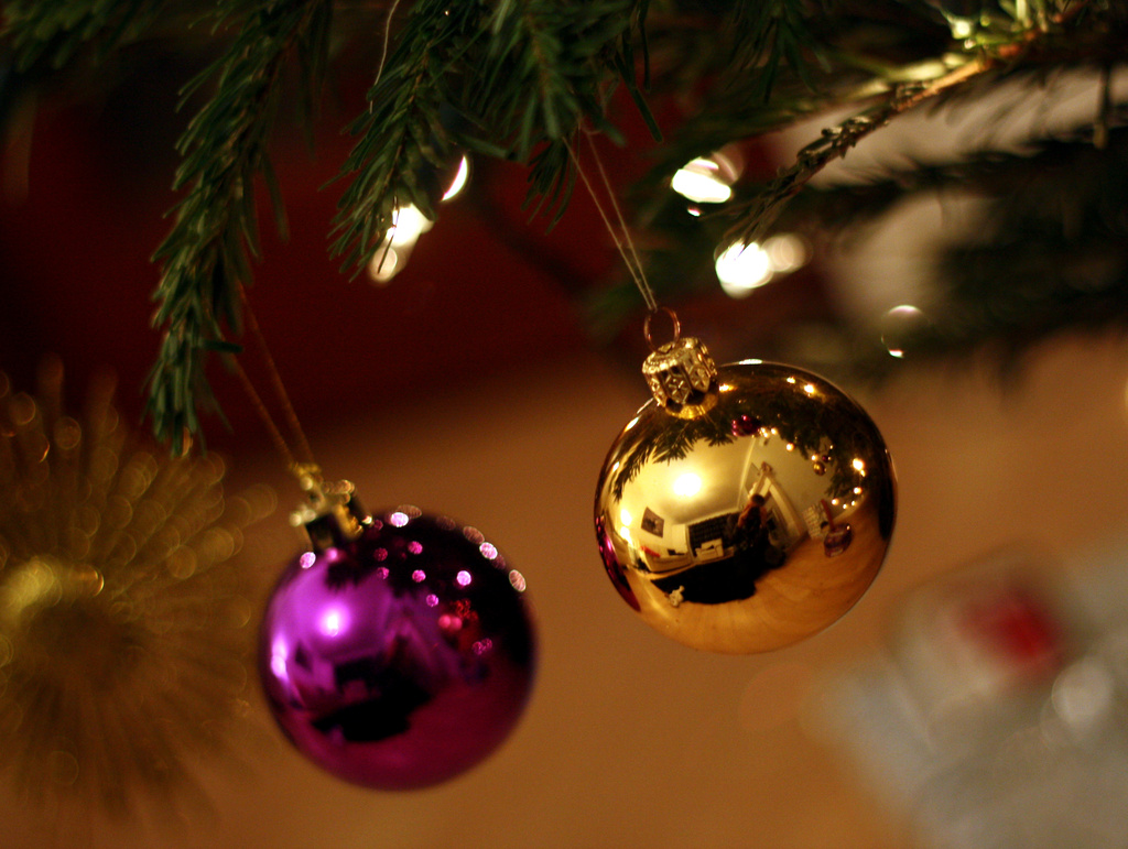 double bauble bokeh by phil_howcroft