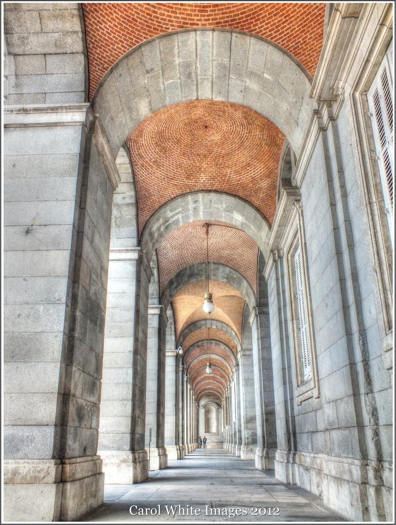 Arches,The Royal Palace,Madrid by carolmw