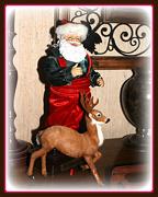 10th Dec 2012 - Santa and Prancer