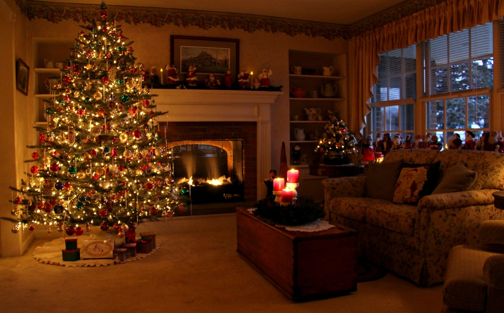 Christmas By The Hearth by digitalrn