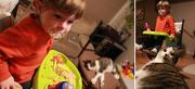 19th Dec 2012 - Justin & Biko. Biko & Justin.