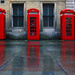 Red Telephone Boxes by seanoneill