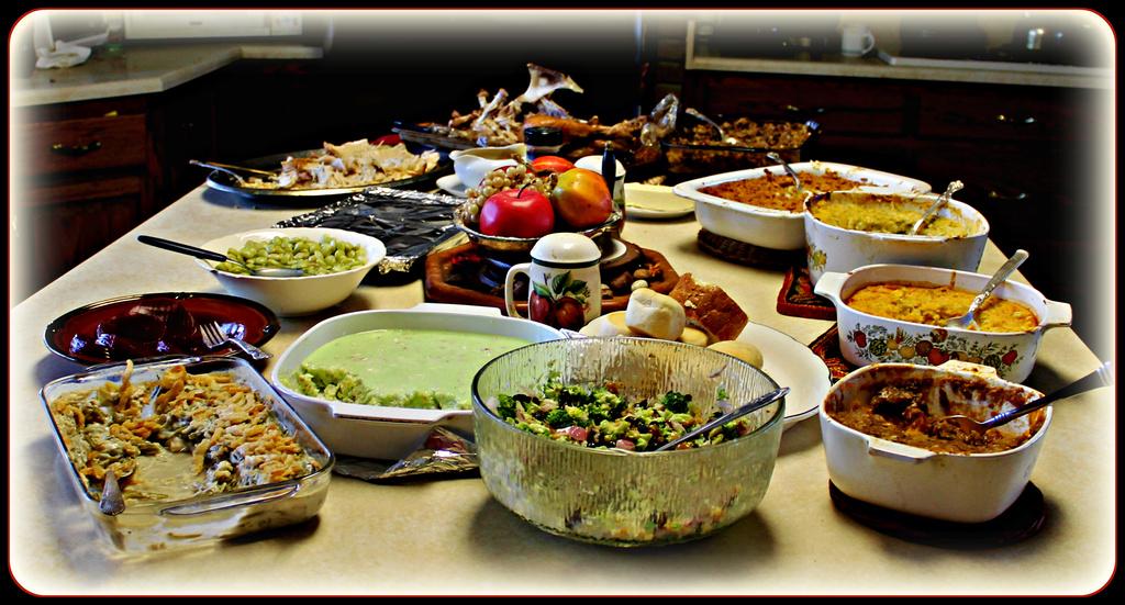 Holiday Feast by vernabeth