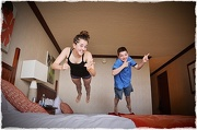 28th Dec 2012 - Bed Jumping
