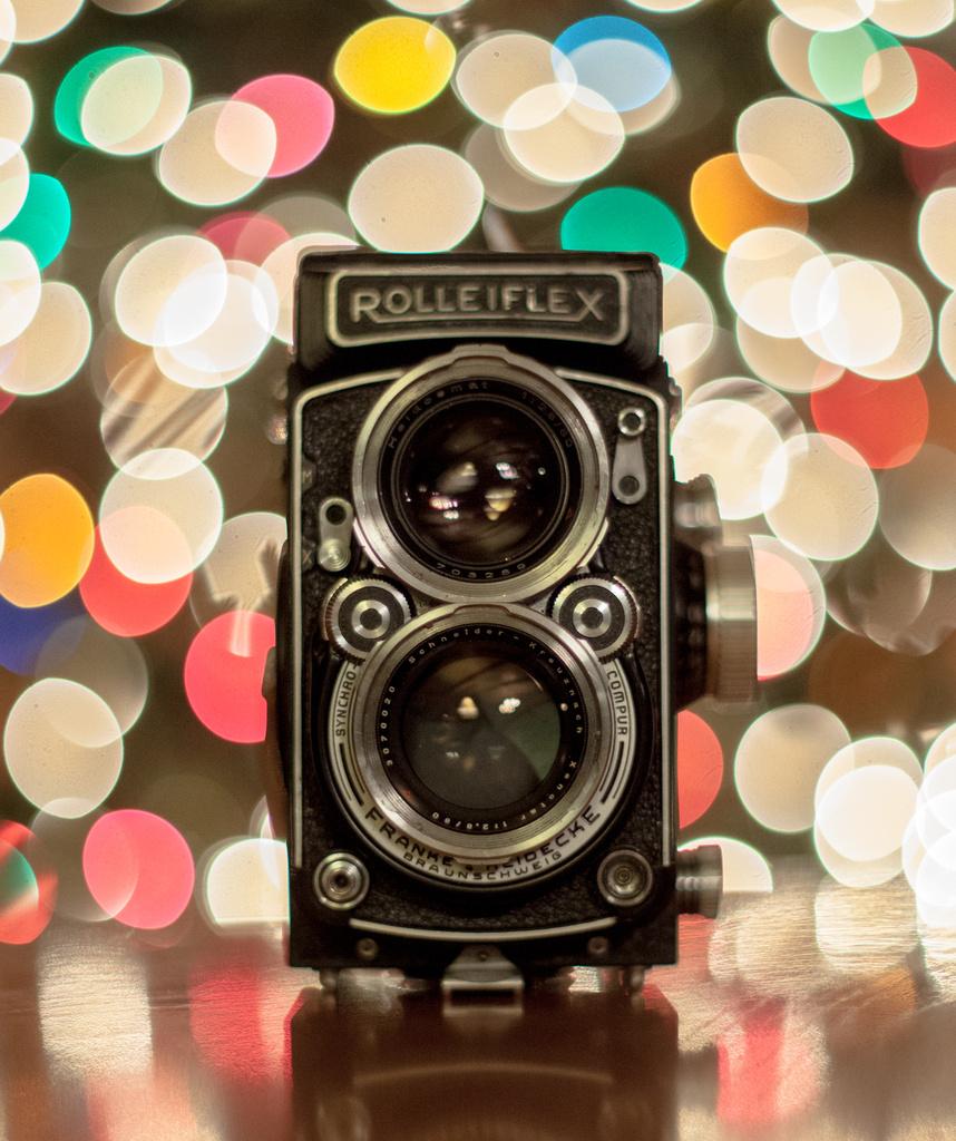 1952 Rolleiflex 2.8C by grizzlysghost