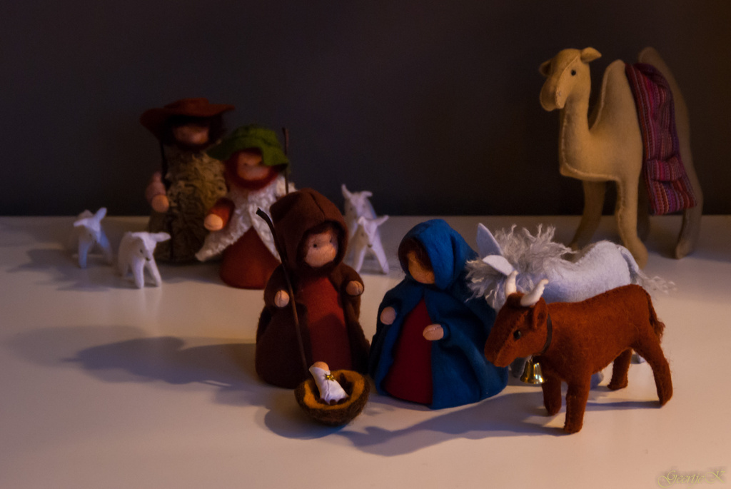 Away in a manger by geertje