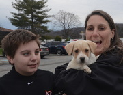 31st Dec 2012 - Riley and his new family
