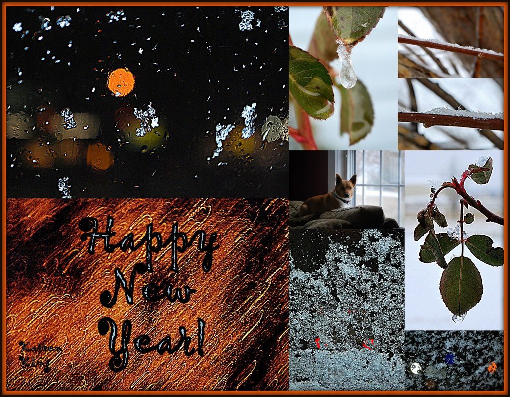 New Year's Eve Collage by kareenking