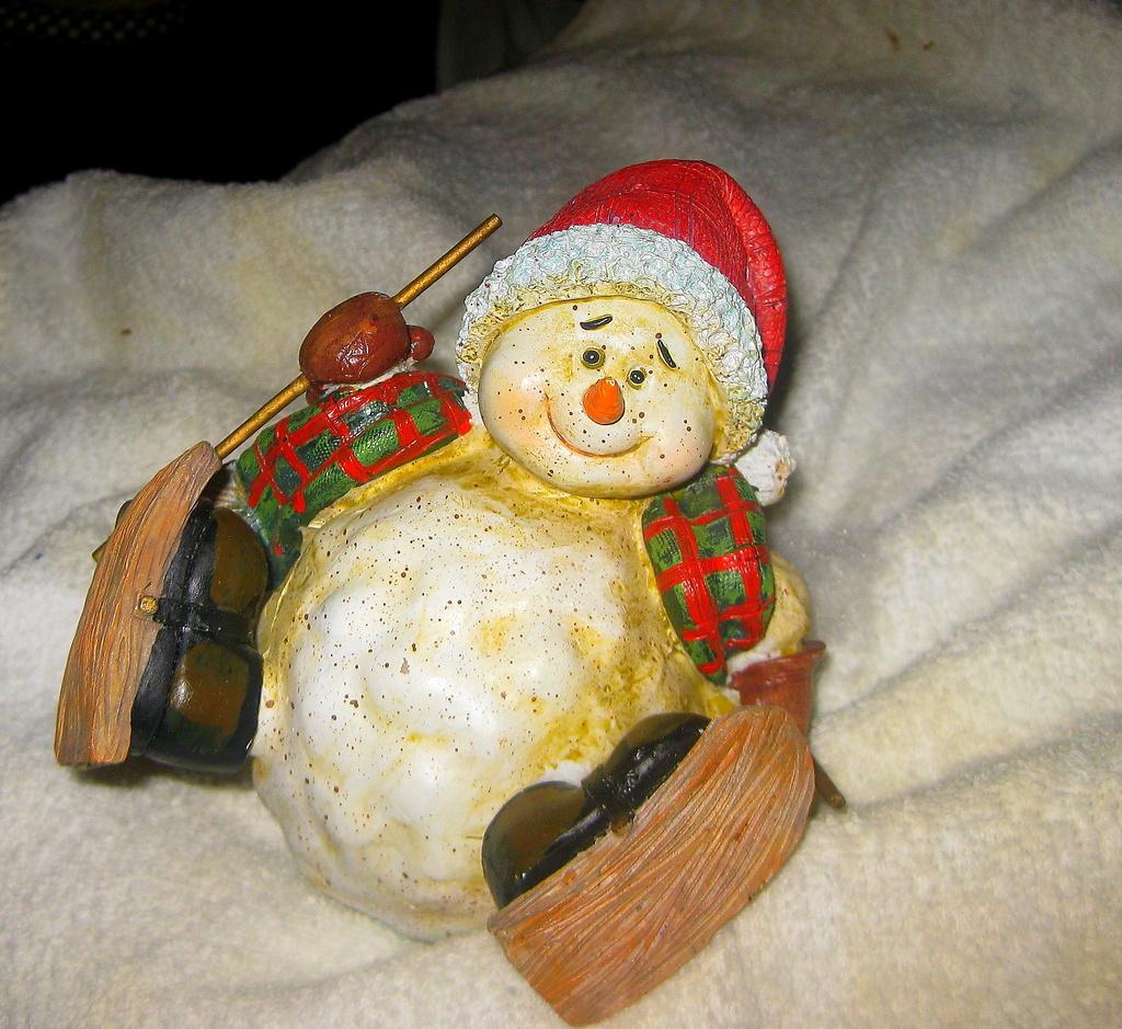 Happy Snowman by vernabeth