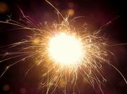 1st Jan 2019 - Sparks Flying!  1.1.13