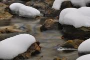 3rd Jan 2013 - Winter - Snow on the Rocks