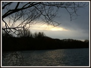 3rd Jan 2013 - Sunset on a cloudy day