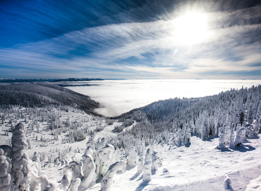Flathead Valley Inversion by grizzlysghost