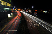 5th Jan 2013 - Light trails in Leicester