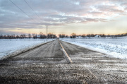 5th Jan 2013 - Country Road in the Frozen Tundra - Looks much better viewed Large