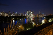 7th Jan 2013 - Brisbane from Kangaroo point cliffs