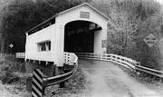 7th Jan 2013 - Black and White Covered Bridge