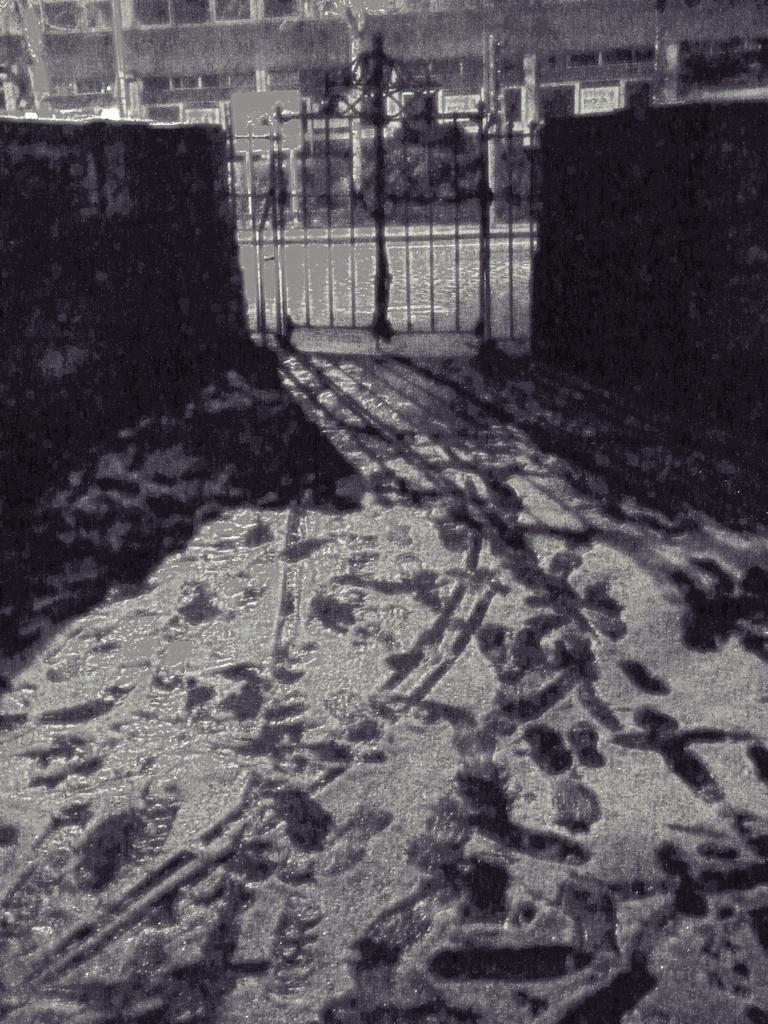 The gate is locked, Mr Pip. by sabresun
