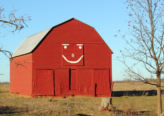 Happy Barn Revisted by copperheadglass