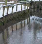 20th Jan 2013 - Railings and reflections