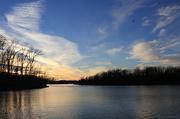 20th Jan 2013 - Sunset at the lake [SOOC]