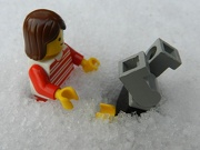 "22nd Jan 2013 - ""I told you we shouldn't have come out walking with the snow as deep as this!"""