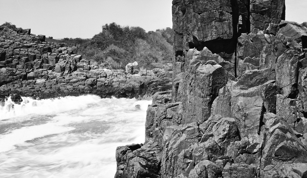 Granite and sea by peterdegraaff