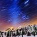 Shuksan Star Trails by abirkill