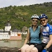 Biking on Rhine by harvey