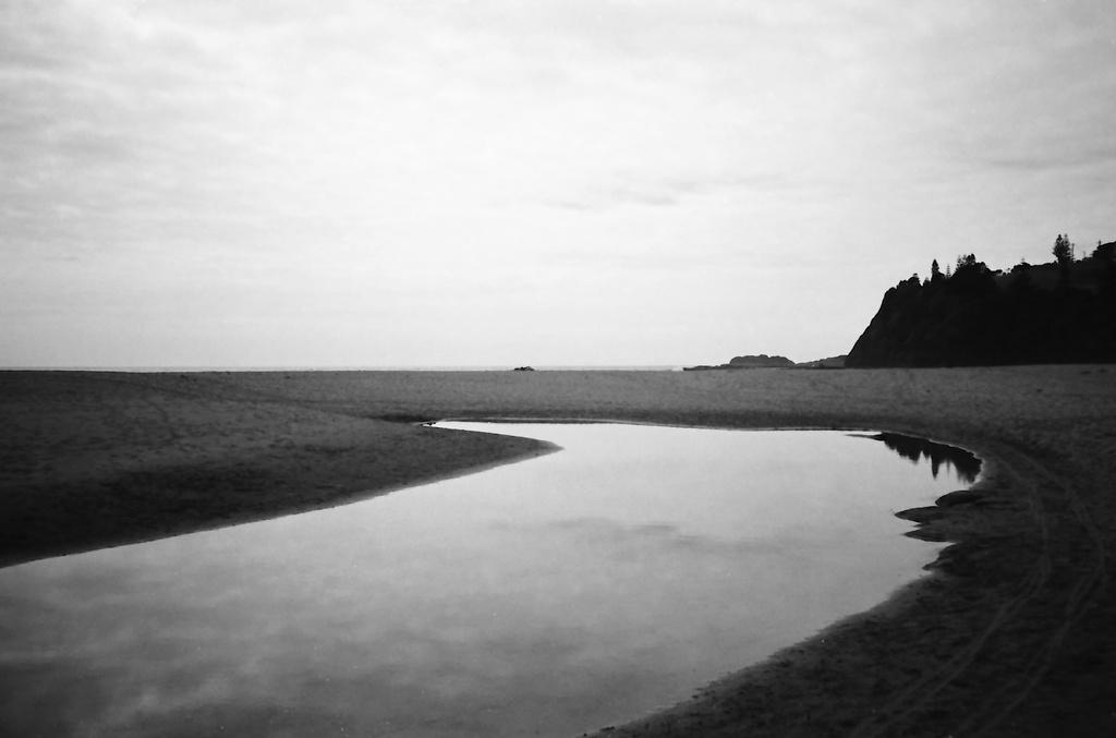 Bombo beach lagoon by peterdegraaff