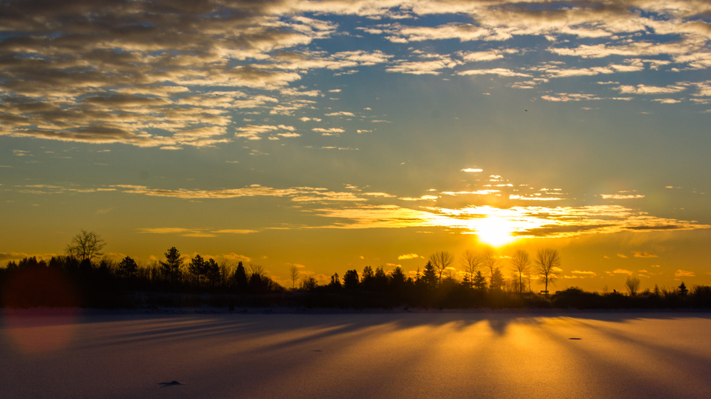 This morning the sun rose... by northy