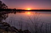 2nd Feb 2013 - sunrise at boddington reservoir
